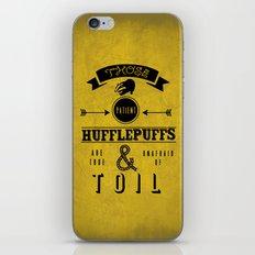 true & unafraid iPhone & iPod Skin