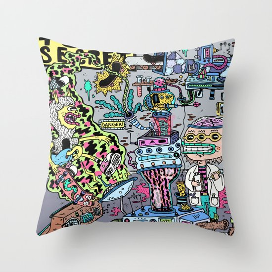 How It's Made: Skateboard Edition Throw Pillow