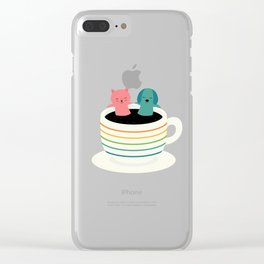 Our Universe Clear iPhone Case