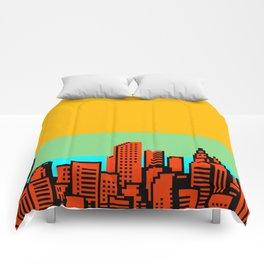 NES CITYSCAPE 02 Comforters