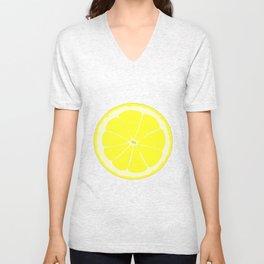A Slice oF Lemon Unisex V-Neck
