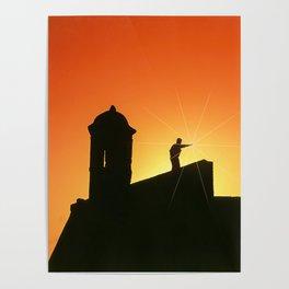 Fortress of San Felipe in Cartagena de Indias Poster