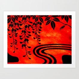Zen #Society6 #buyart #decor Art Print