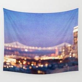 BAY BRIDGE GLOW - San Francisco Wall Tapestry