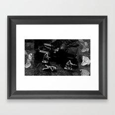 The Hot Zone Framed Art Print