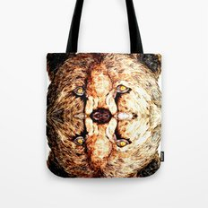Two-Headed Bear Tote Bag