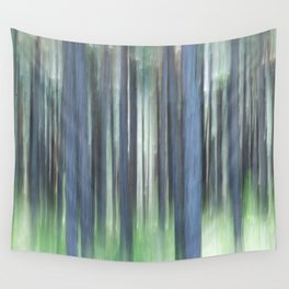 Painted Trees Wall Tapestry