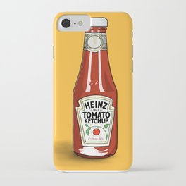 A love of Ketchup iPhone Case