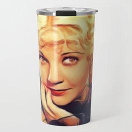 Una Merkel, Vintage Actress Travel Mug