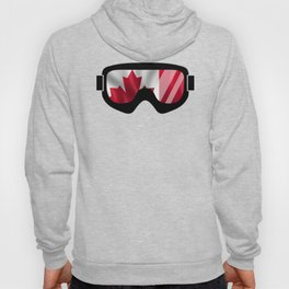 Canadian Goggles | Goggle Art Design | DopeyArt Hoody