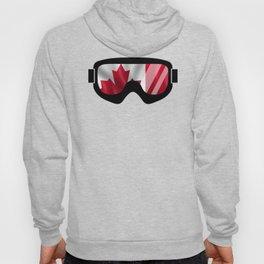 Canadian Goggles | Goggle Art Design | DopeyArt Hoody