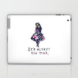 Alice floral designs - Always tea time Laptop & iPad Skin