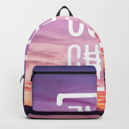 Go to the beach and... Just Chill! Backpack