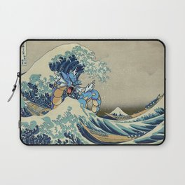 The Great Wave Off Gyarados Laptop Sleeve