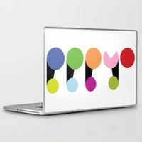 logo Laptop & iPad Skins featuring Logo by PPPYO