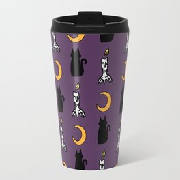 Night Cats Travel Mug