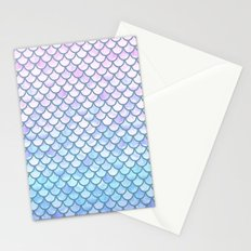 Lavender Mermaid Scales Stationery Cards
