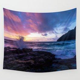 Makapu'u Beach, Hawaii Wall Tapestry