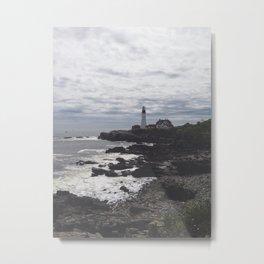 Portland Lighthouse Metal Print
