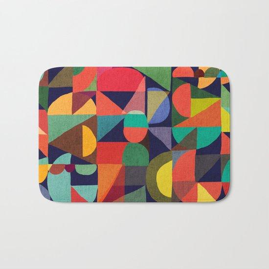 Color Blocks Bath Mat