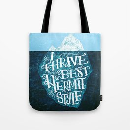 Hermit Iceberg Tote Bag