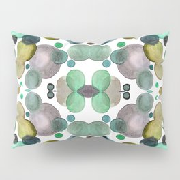 Watercolor circles Pillow Sham