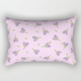 kawaii aubergines Rectangular Pillow