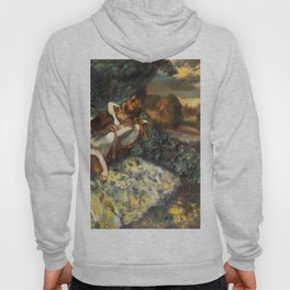 Four Dancers 1900 By Edgar Degas | Reproduction | Famous French Painter Hoody