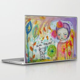 I am Brave ! Laptop & iPad Skin