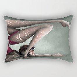 Contortions  Rectangular Pillow