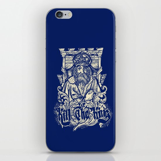 Kill The king iPhone & iPod Skin