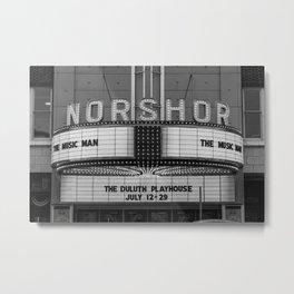 Duluth Noshor Theatre Metal Print