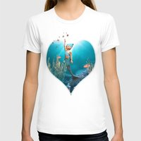 little mermaid T-shirts featuring Little Mermaid by Simone Gatterwe