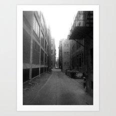 Alley #1 Art Print