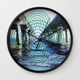 Chesapeake Bay Bridge Wall Clock