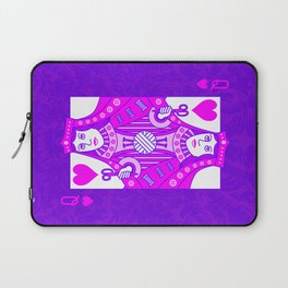 Queen of Crochet Laptop Sleeve