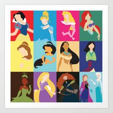 Princess 2014 Art Print