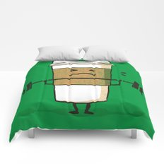 Strong Coffee Comforters