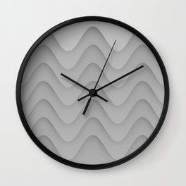 Wavy Wall Clock