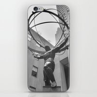 atlas iPhone & iPod Skins featuring Atlas by Jordan Carroll
