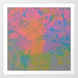Obsession Pattern2 Art Print