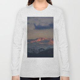 """Tosal Del Cartujo at sunset"". 3152 Meters Long Sleeve T-shirt"