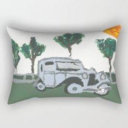 The old car Rectangular Pillow