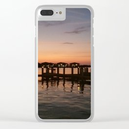 Southern Sunscreen Clear iPhone Case