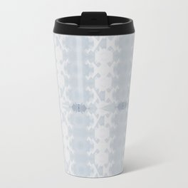 blue ombre mountains Travel Mug