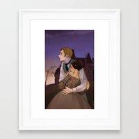 gothic Framed Art Prints featuring Gothic by Yu Dori