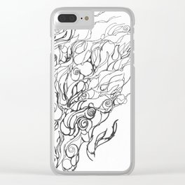 Untitled, Abstract Clear iPhone Case