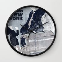 seinfeld Wall Clocks featuring For Seinfeld Fans by Alain Cheung