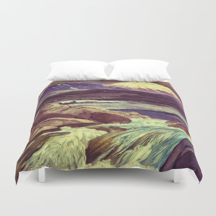 The Rising Fall Duvet Cover