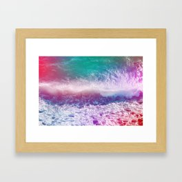 Infinite Waves and Endless Summers Framed Art Print